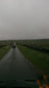 The moor road